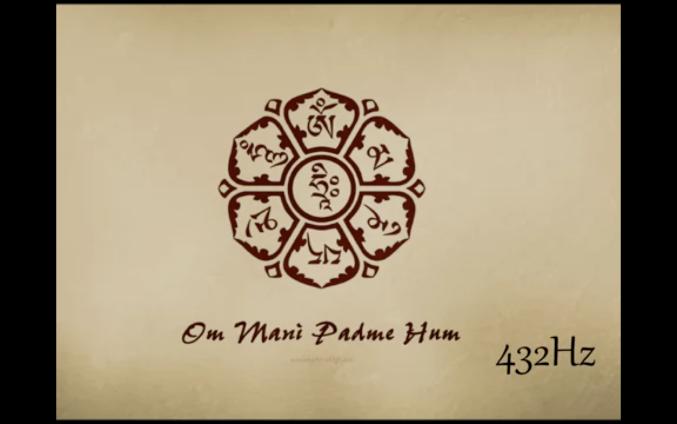 En budismo tibetano se piensa que recitando el mantra de chenrezig om